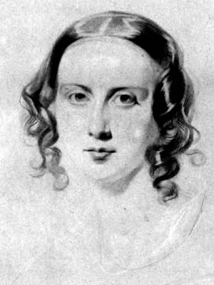 Catherine Hogarth Dickens by Samuel Lawrence (1838).