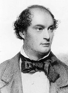 Portrait of Daniel Maclise dating from 1857.