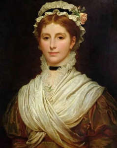 Charles Edward Perugini's portrait of his wife Kate.
